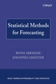 Statistical Methods for Forecasting (0471769878) cover image