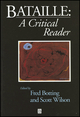 Bataille: A Critical Reader (0631199578) cover image