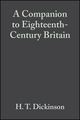 A Companion to Eighteenth-Century Britain (0631218378) cover image