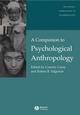 A Companion to Psychological Anthropology: Modernity and Psychocultural Change (0631225978) cover image