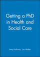 Getting a PhD in Health and Social Care (0632050578) cover image