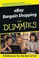 eBay Bargain Shopping For Dummies (0764558978) cover image
