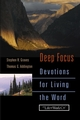 Deep Focus: Devotions for Living the Word  (0787964778) cover image