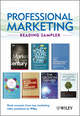 Professional Marketing Reading Sampler: Book excerpts from top marketing titles published by Wiley (1118389778) cover image
