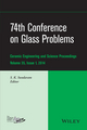 74th Conference on Glass Problems, Volume 35, Issue 1 (1118932978) cover image