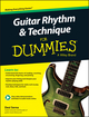 Guitar Rhythm and Technique For Dummies, Book + Online Video & Audio Instruction (1119022878) cover image