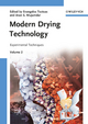 Modern Drying Technology, Volume 2: Experimental Techniques (3527315578) cover image