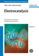 Electrocatalysis: Theoretical Foundations and Model Experiments (3527332278) cover image