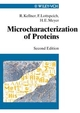 Microcharacterization of Proteins, 2nd Edition (3527613978) cover image