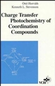 Charge Transfer Photochemistry of Coordination Compounds (0471188379) cover image