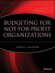 Budgeting for Not-for-Profit Organizations (0471253979) cover image