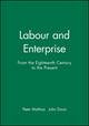 Labour and Enterprise: From the Eighteenth Century to the Present (0631174079) cover image