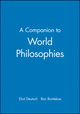A Companion to World Philosophies (0631213279) cover image