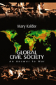 Global Civil Society: An Answer to War (0745627579) cover image