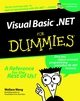VisualBasic .NET For Dummies (0764508679) cover image