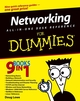Networking All-in-One Desk Reference For Dummies (0764559079) cover image