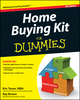 Home Buying Kit For Dummies, 5th Edition (1118206479) cover image