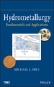 Hydrometallurgy: Fundamentals and Applications (1118230779) cover image