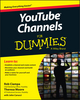 YouTube Channels For Dummies (1118958179) cover image