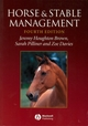 Horse and Stable Management, 4th Edition (1405100079) cover image