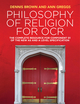 Philosophy of Religion for OCR: The Complete Resource for Component 01 of the New AS and A Level Specifications (1509517979) cover image