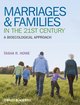 Marriages and Families in the 21st Century: A Bioecological Approach (EHEP002279) cover image