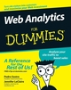 Web Analytics For Dummies (047016977X) cover image