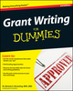 Grant Writing For Dummies, 3rd Edition (047046397X) cover image