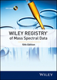 Wiley Registry of Mass Spectral Data, 10th Edition (047052037X) cover image