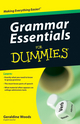 Grammar Essentials For Dummies (047061837X) cover image