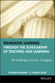 Enhancing Learning Through the Scholarship of Teaching and Learning: The Challenges and Joys of Juggling (047063197X) cover image