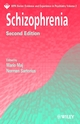 Schizophrenia, 2nd Edition (047085927X) cover image