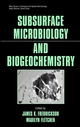 Subsurface Microbiology and Biogeochemistry (047131577X) cover image