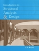Introduction to Structural Analysis & Design (047131997X) cover image
