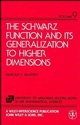 The Schwarz Function and Its Generalization to Higher Dimensions (047157127X) cover image