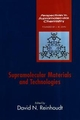 Supramolecular Materials and Technologies (047197367X) cover image