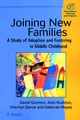 Joining New Families: A Study of Adoption and Fostering in Middle Childhood (047197837X) cover image