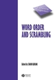 Word Order and Scrambling (063123327X) cover image