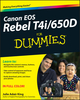 Canon EOS Rebel T4i/650D For Dummies (111833597X) cover image