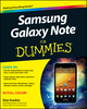 Samsung Galaxy Note For Dummies (111838847X) cover image