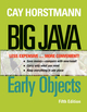 Big Java: Early Objects, Binder Ready Version, 5th Edition (111842297X) cover image