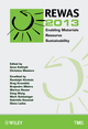 REWAS 2013 Enabling Materials Resource Sustainability (111860587X) cover image