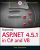Beginning ASP.NET 4.5.1: in C# and VB (111884677X) cover image