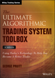 The Ultimate Algorithmic Trading System Toolbox + Website: Using Today's Technology To Help You Become A Better Trader (111909657X) cover image