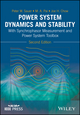 Power System Dynamics and Stability: With Synchrophasor Measurement and Power System Toolbox, 2nd Edition (111935577X) cover image