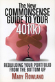 The New Commonsense Guide to Your 401(k): Rebuilding Your Portfolio from the Bottom Up, 2nd Edition (157660327X) cover image