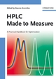 HPLC Made to Measure: A Practical Handbook for Optimization (352731377X) cover image