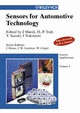 Sensors Applications, Volume 4, Sensors for Automotive Applications (352760507X) cover image