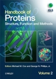 Handbook of Proteins: Structure, Function and Methods, 2 Volume Set (0470060980) cover image