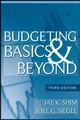 Budgeting Basics and Beyond, 3rd Edition (0470389680) cover image